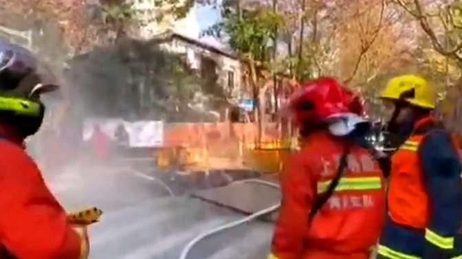 上海黄浦区发生燃气泄漏事件,因处理及时并无人员伤亡