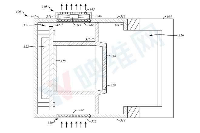 最新专利透露苹果AR穿戴硬件具有散热机制 AR资讯 第3张