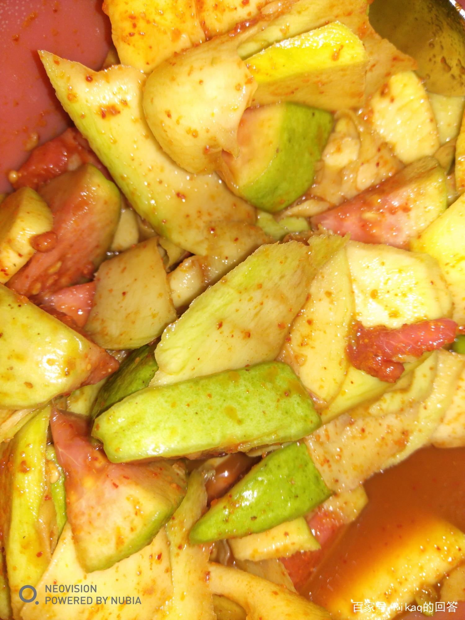 来自广西的黑暗料理:水果配辣椒盐