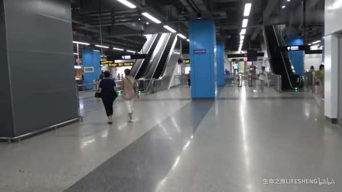 活动作品上海轨道交通8号线 沈杜公路站 站内转乘 浦江线 闵行区 上海