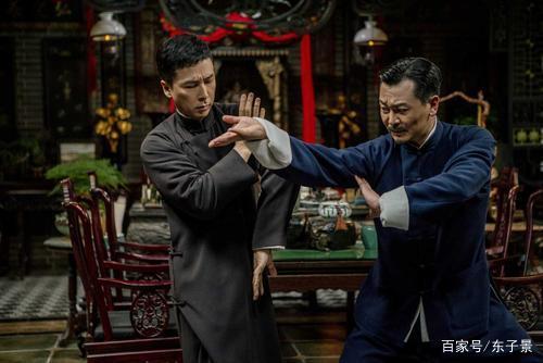 《叶问4》太极对咏春,网友表示:宗师之间的对决,够稳