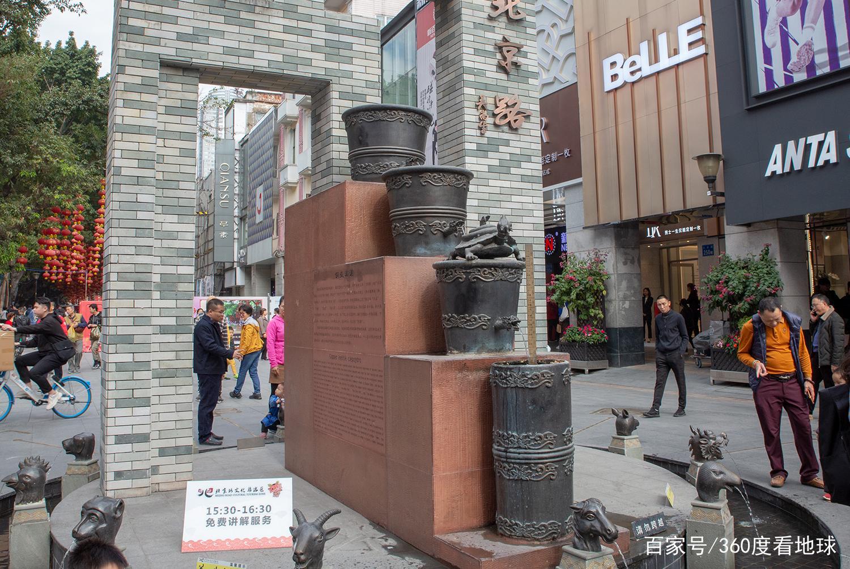 广州最古老的景点,与广州城同岁,是五一出游的胜地