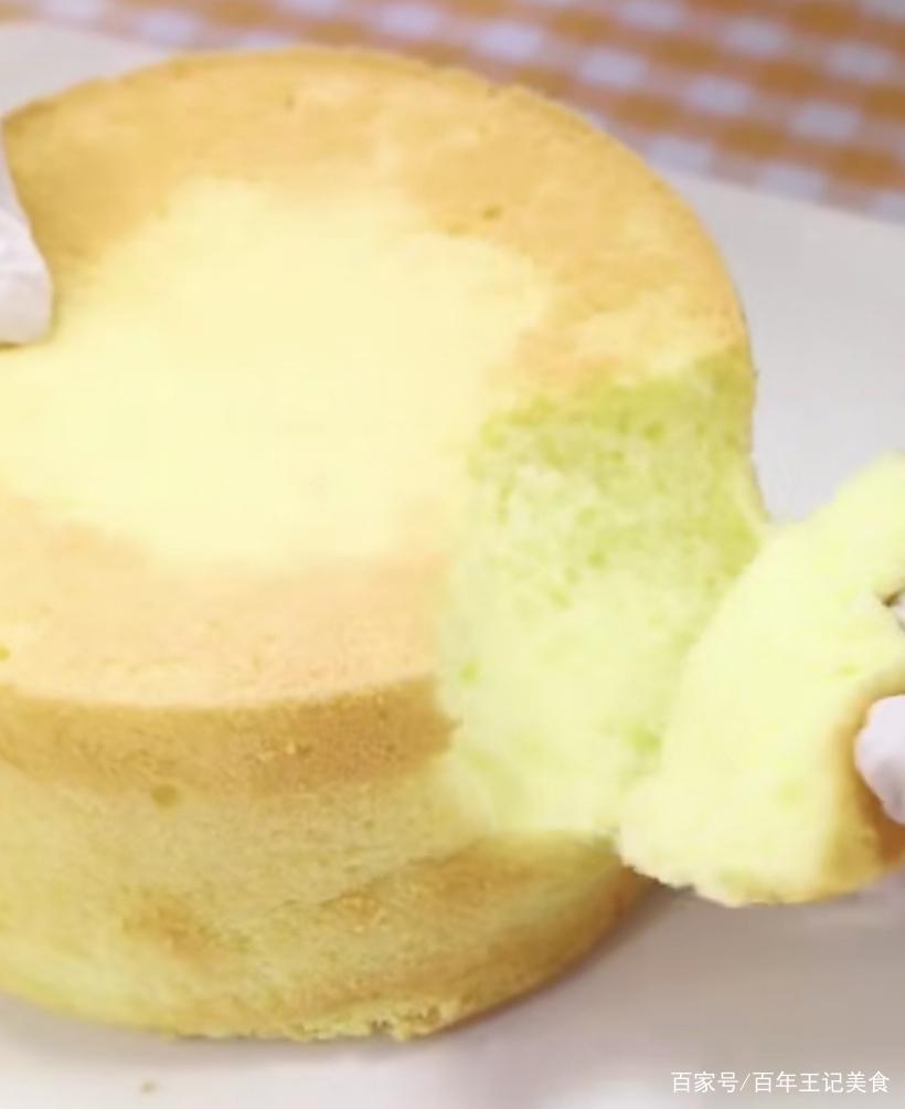 新手做蛋糕必学,戚风蛋糕胚,按我的方法,不回缩松软好吃