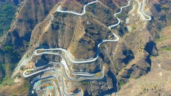 北京房山有一条唯美的乡村公路 京西红井路 盘旋在群山之中