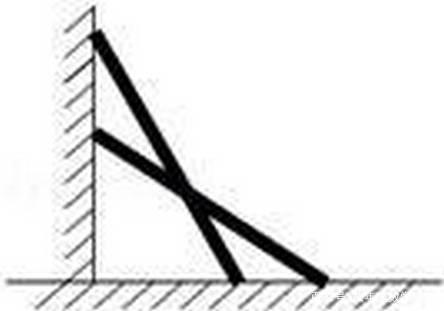 一架梯子长25米,如图斜靠在一面墙上.梯子底端离墙7米,如果梯子的顶端下滑了4米,那么梯子的底部在水平方向上滑动了几米?