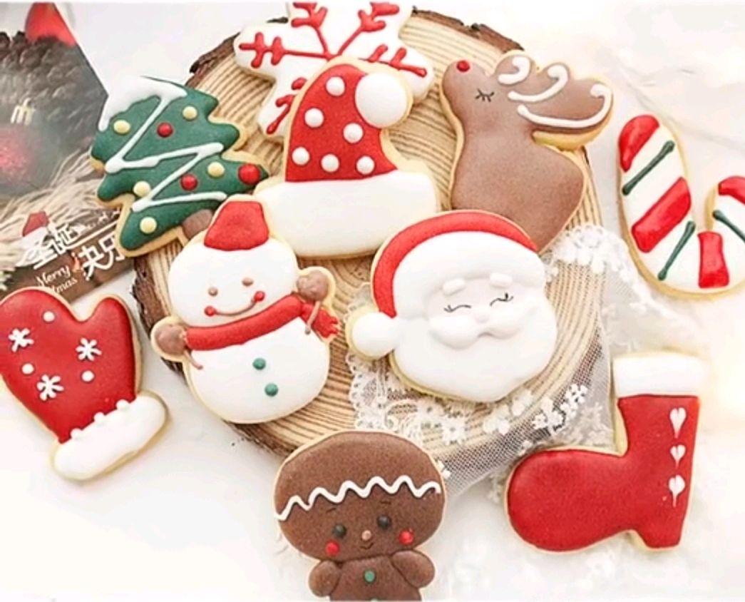 在家都可以做的饼干,圣诞糖霜饼干配方教程分享!