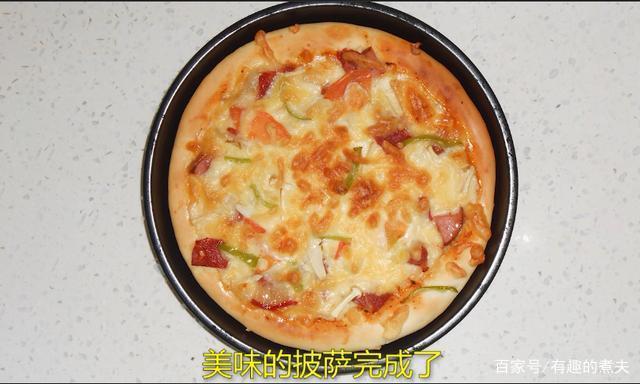 浓香的芝士,奶香的披萨饼简单制作,这样做超级好吃!
