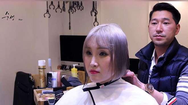 30岁女性要剪高俊熙同款发型,剪完很满意,美翻了