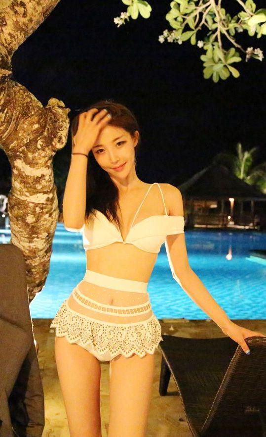 韩国八大泳装模特比基尼美图乐多美女网整理第49期