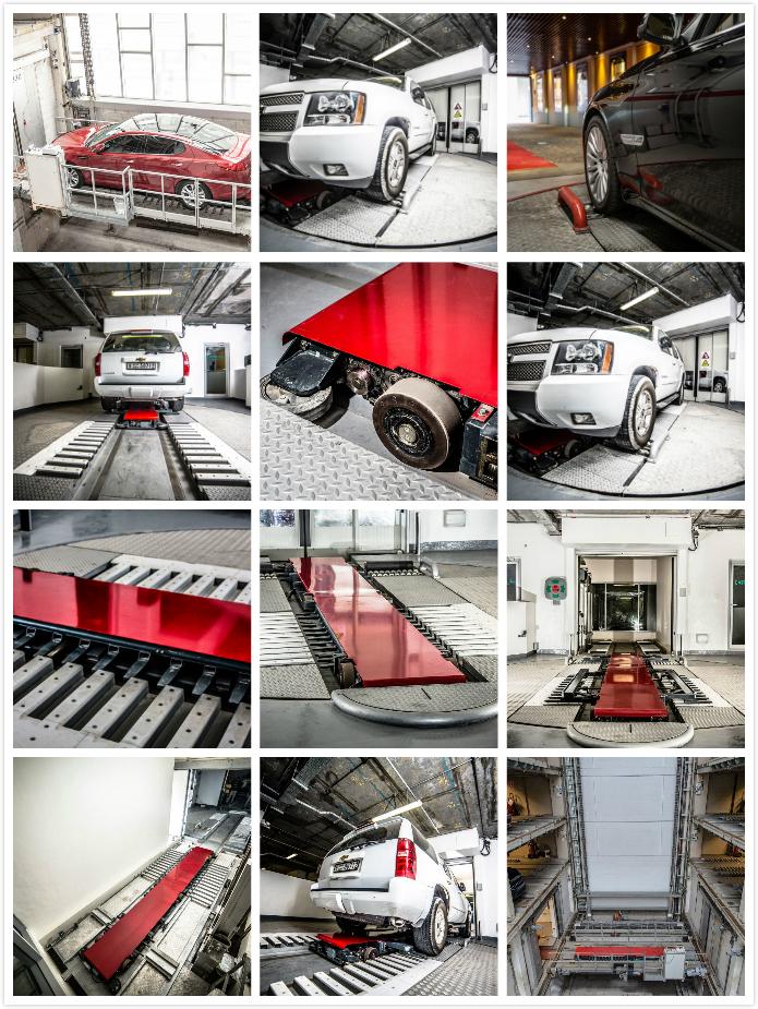 欧洲全自动立体车库工程案例