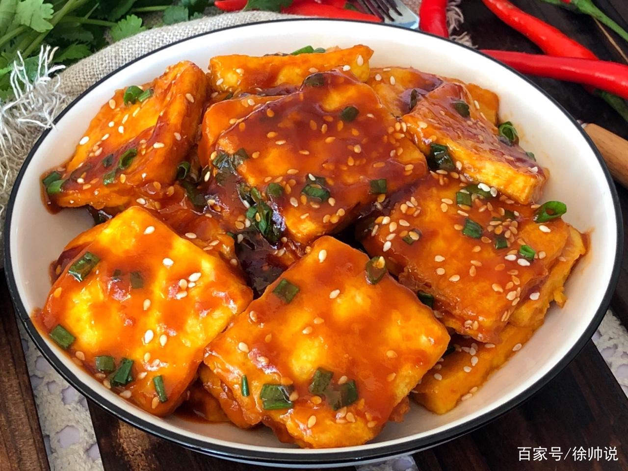 外酥里嫩,脆皮豆腐,做法简单,色泽诱人,口感嫩滑!