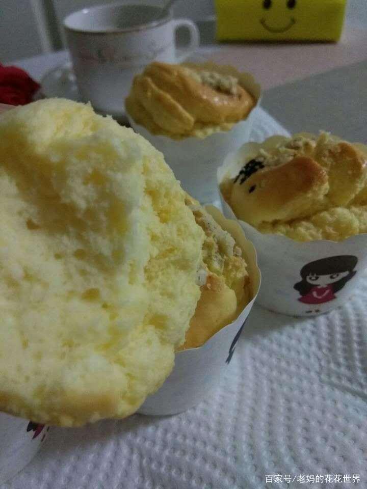 纸杯蛋糕,小朋友爱玩的简单烘焙,普通面粉可以做