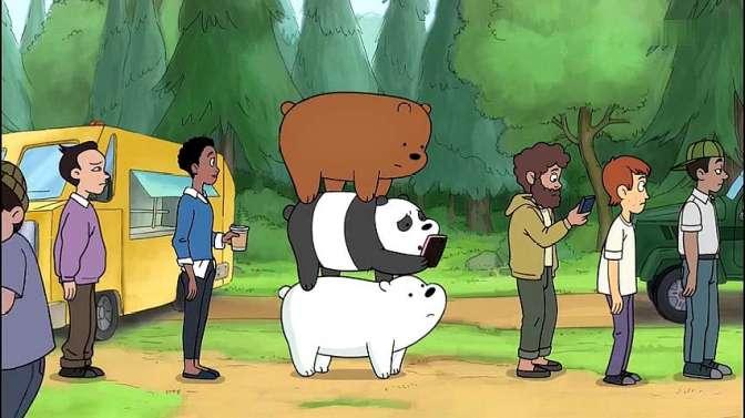 咱们裸熊吧第一季:拉面玉米卷,排队1小时,吃完1分钟