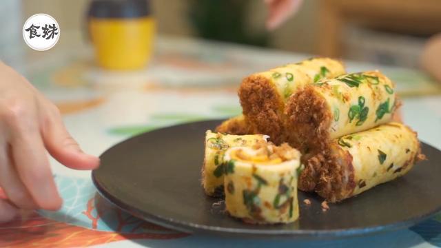 不用烤箱不用揉面,15分钟就吃上葱花肉松面包,还可以这么操作吗