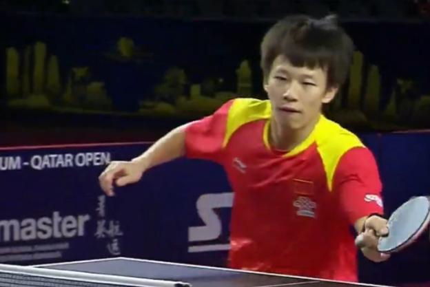 林高远没掉链子!淘汰17岁新星将对阵黑马,国乒男单4强占3席