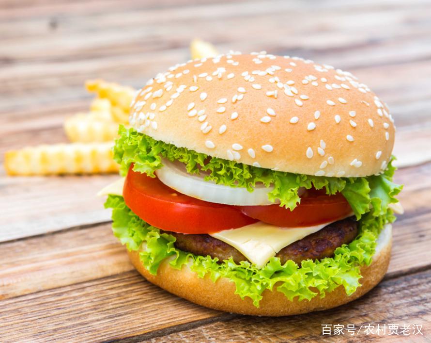 自制汉堡,详细制作方法,健康营养又美味