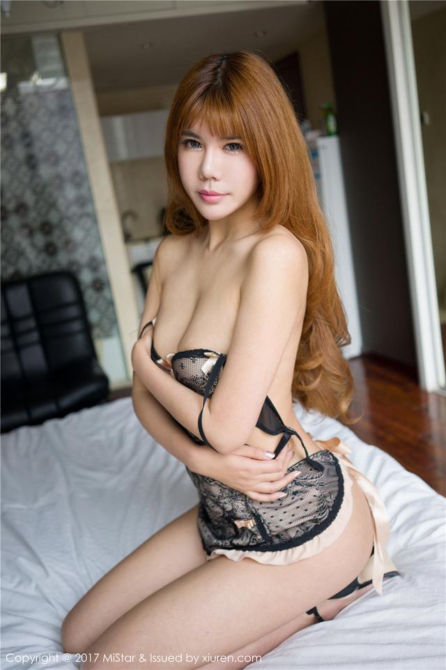 [魅妍社] 性感香艳美女安沛蕾大尺度人体私房写真 VOL.1