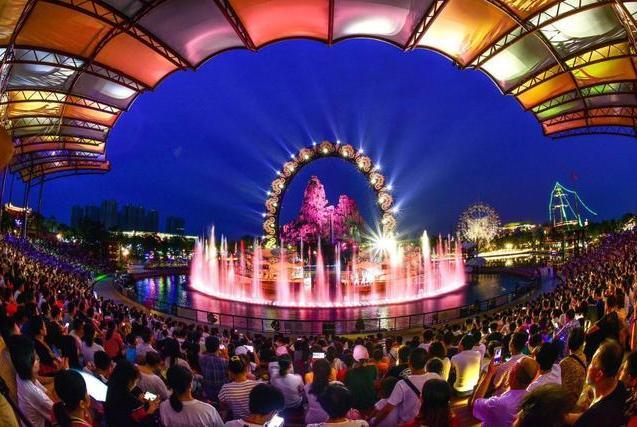 广州灯光节·融创分会场唯美3D光影秀+乐园奇妙夜,靓爆镜
