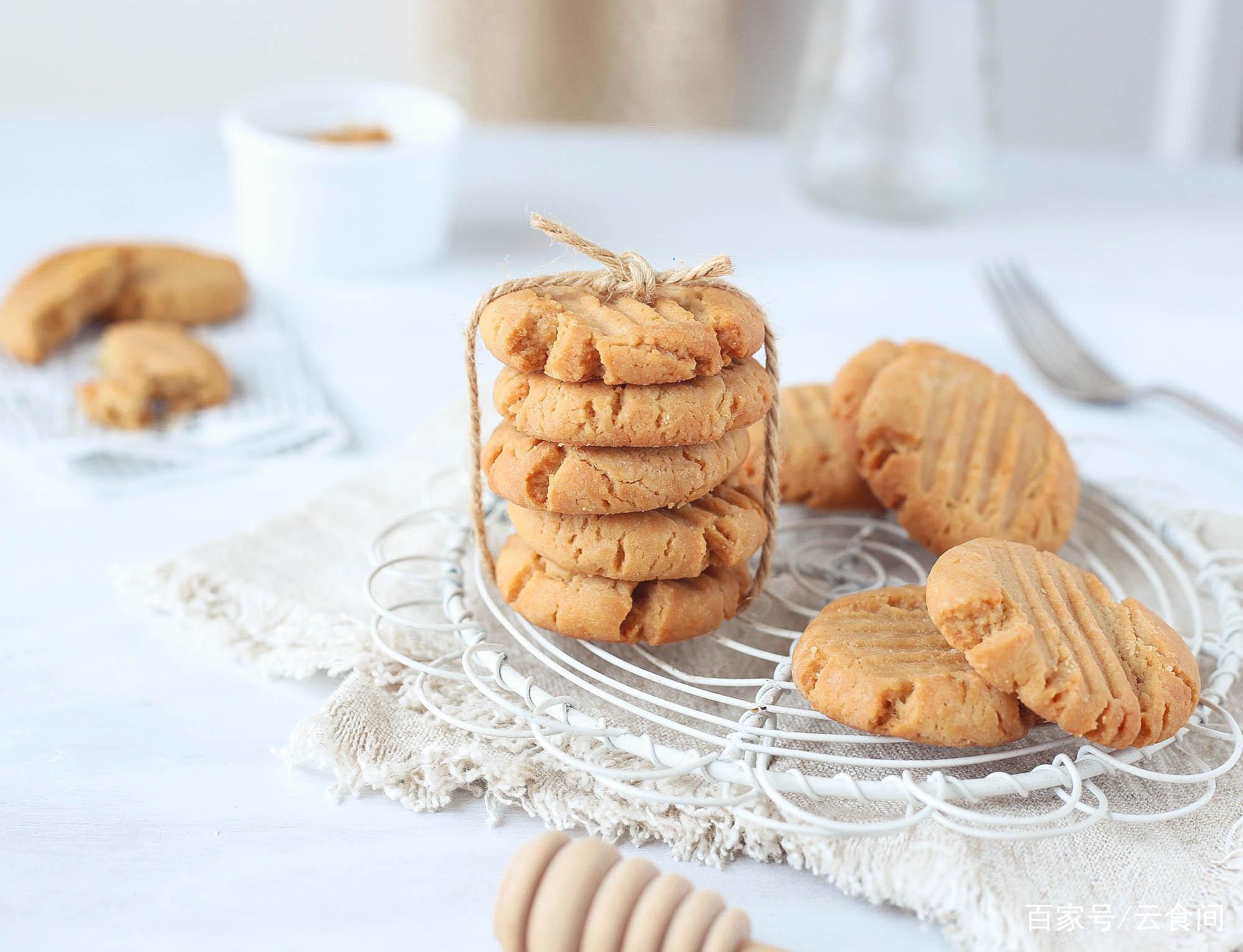 超好吃的饼干做法,不用黄油,热量更低,儿子吃了停不下来