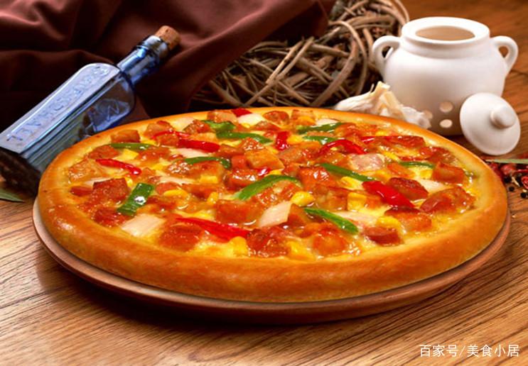 美味可口、简单方便的新奥尔良烤肉披萨食谱给大家分享啦