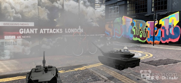 英国说唱艺术家Giggs利用AR技术宣传新专辑 AR资讯 第1张