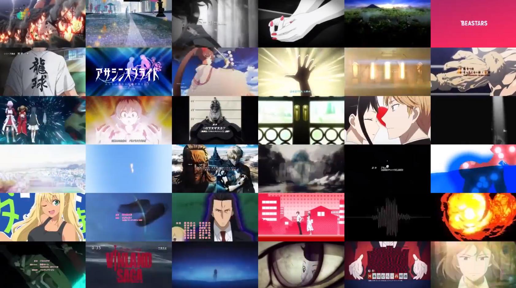 Anime in 2019 2019年的日本动画 gigguk ACG资讯