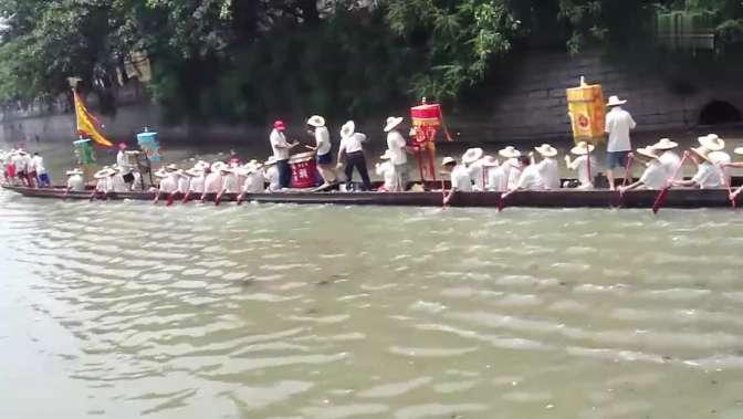 广州海珠区瑞宝龙船