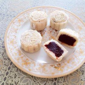 春节在家,抓紧时间给自己滋补养颜啊!杏仁茶和枣泥山药糕就可以