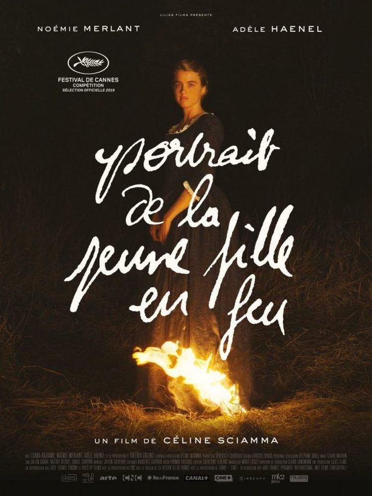 《燃烧女子的肖像》观后心得,水里来、火里去,为爱而作的画