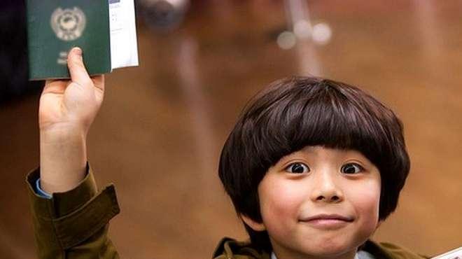 韩国萌娃独自来到中国,只为寻找爸爸,堪称小蝌蚪找妈妈电影版