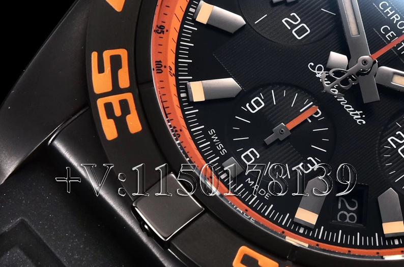 GF厂百年灵终极计时黑鹰橙圈,究竟质量如何?值不值入手?