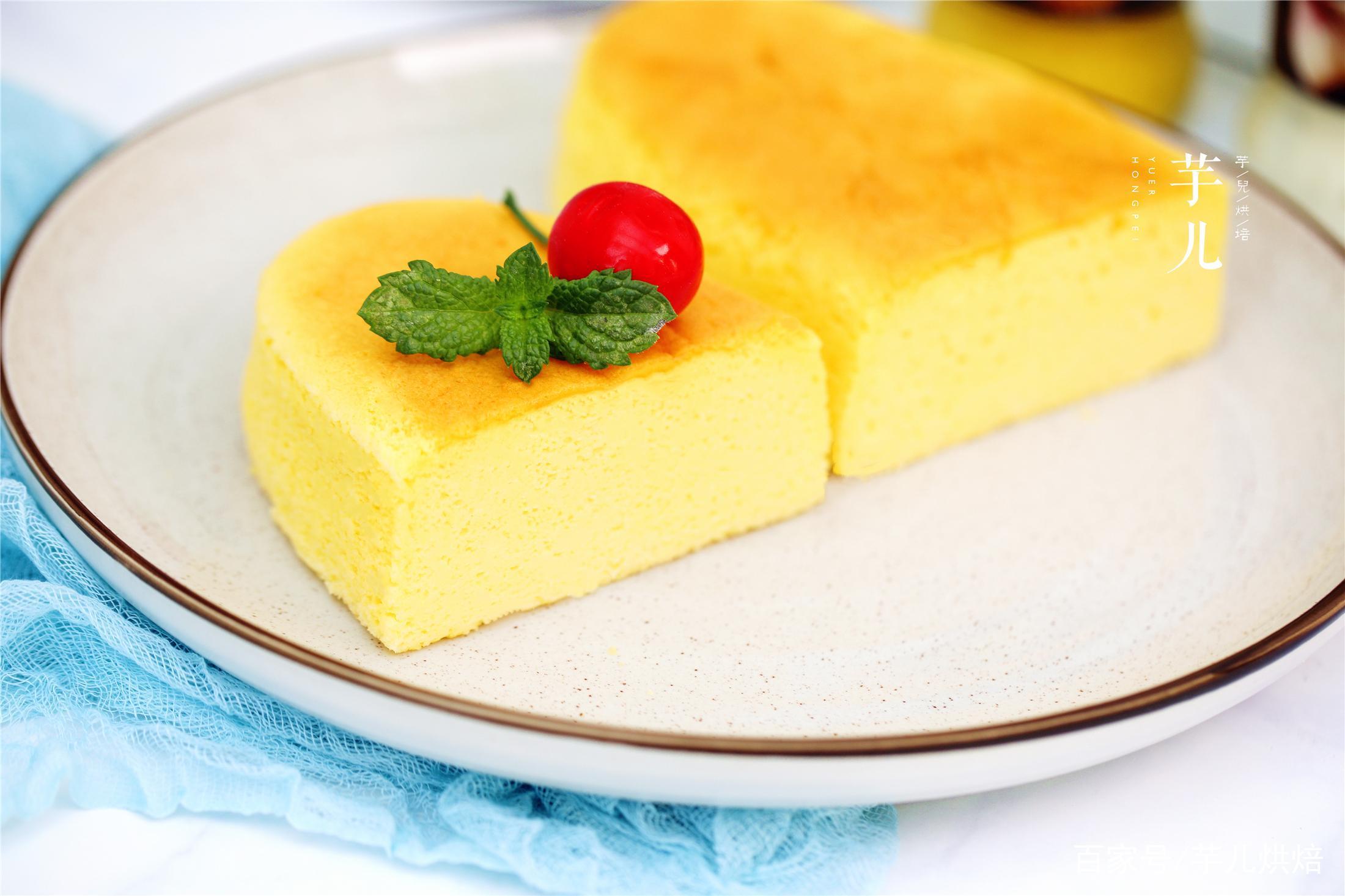 教你日式轻芝士蛋糕,不开裂不回缩的秘诀,超完美配方,一次成功