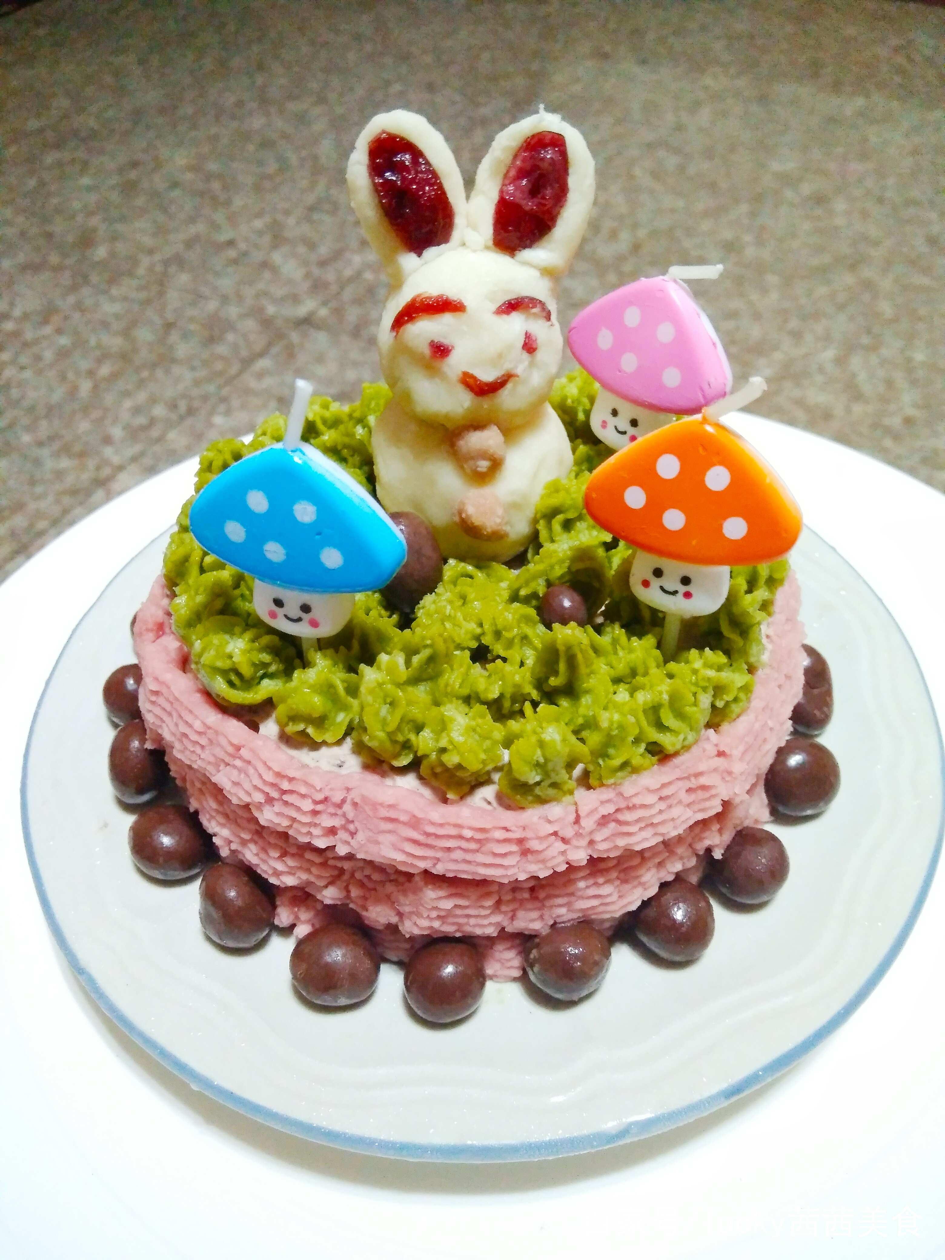 兔子宝贝生日蛋糕