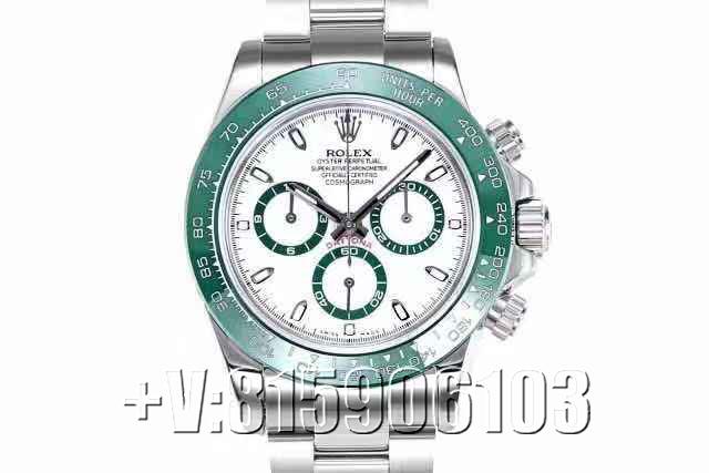 一品说表:BL厂劳力士迪通拿绿圈腕表!为迪通拿增添一抹耀眼绿色