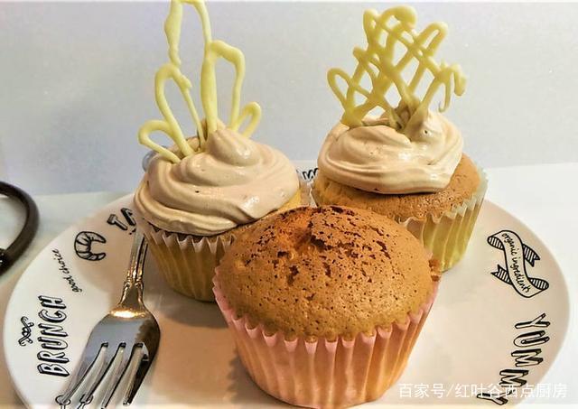 红叶谷·枫叶食谱:学做卡士达酱夹心杯子蛋糕,参与西点品鉴会